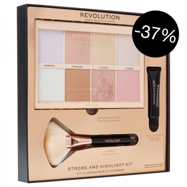 Makeup Revolution - Strobe and Highlight Kit