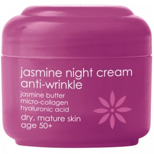 Ziaja - Gesichtspflege - Jasmine Night Cream Anti-Wrinkle