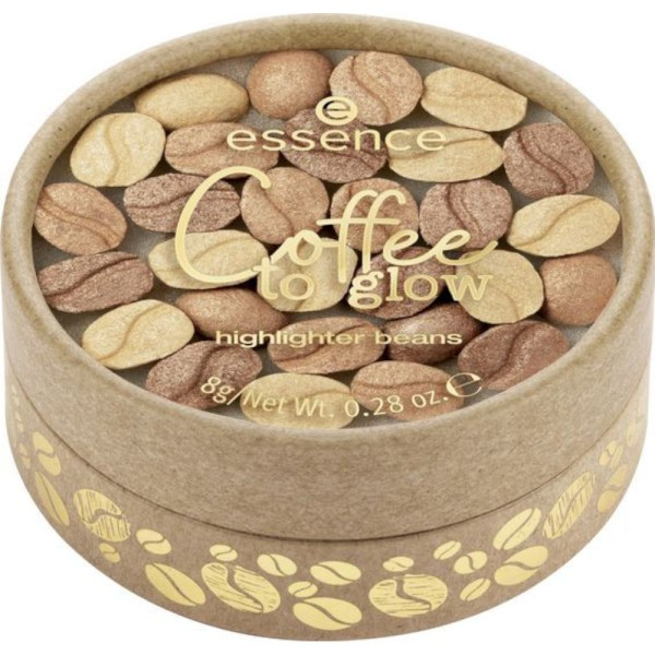 essence - Coffee to glow highlighter beans - 01 Meant To Bean Together!