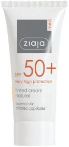 Ziaja Med - Getönte Tagespflege - Tinted Cream SPF 50+