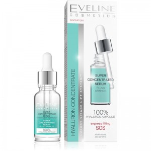 Eveline Cosmetics - Hyaluron&Collagen Super Concentrated Serum  18Ml