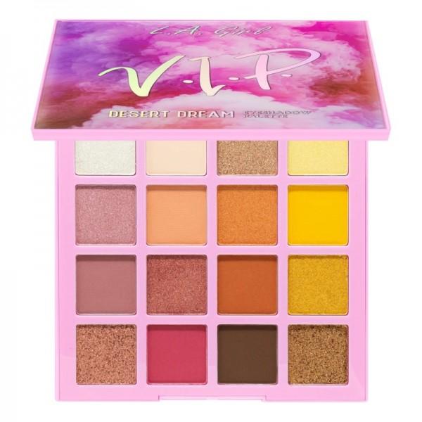 LA Girl - Lidschattenpalette - Desert Dream Eyeshadow Palette - V.I.P.