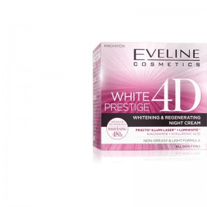 Eveline Cosmetics - White Prestige 4D Whitening And Regenerating Night Cream