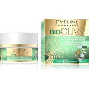 Eveline Cosmetics - Gesichtscreme - Bio Olive - Deeply Moisturizing Cream-Concentrate 50ml
