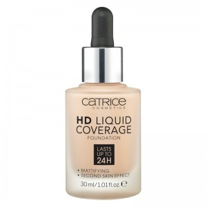 Catrice - Foundation - HD Liquid Coverage Foundation - 020 Rose Beige