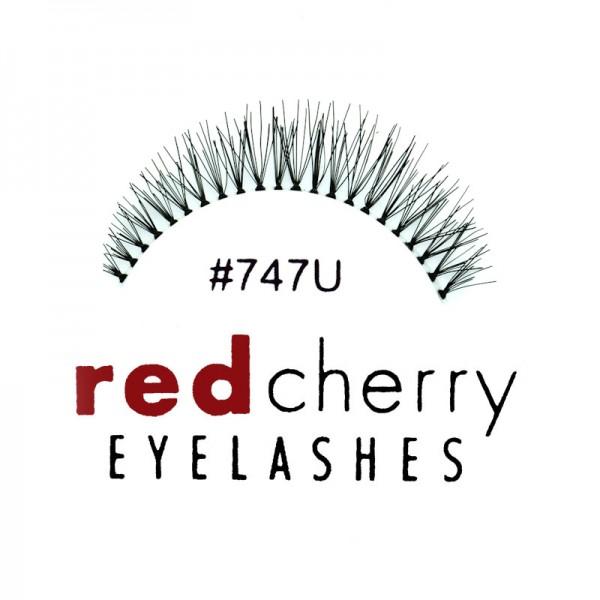 Red Cherry - False Eyelashes No. 747U - Human Hair