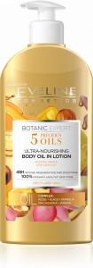 Eveline Cosmetics - Bodylotion - Botanic Expert 5 Precious Oils ultra-pflegendes Körperöl in Lotion