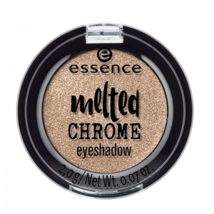 essence - melted chrome eyeshadow - golden crown 08