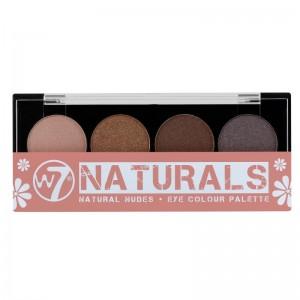 W7 - Lidschattenpalette - Cool Pastels for London - Eye Colour Palette - Naturals