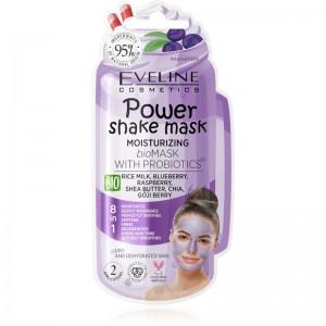 Eveline Cosmetics - Gesichtsmaske - Power Shake Mask Moisturizing