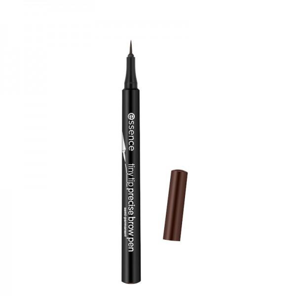 essence - Augenbrauenstift - tiny tip precise brow pen 03 - dark brown