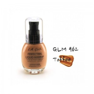 LA Girl - Foundation - Perfecting Liquid Makeup Oil Free - Toffee