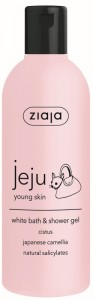 Ziaja - Duschgel - Jeju - White Bath and Shower Gel