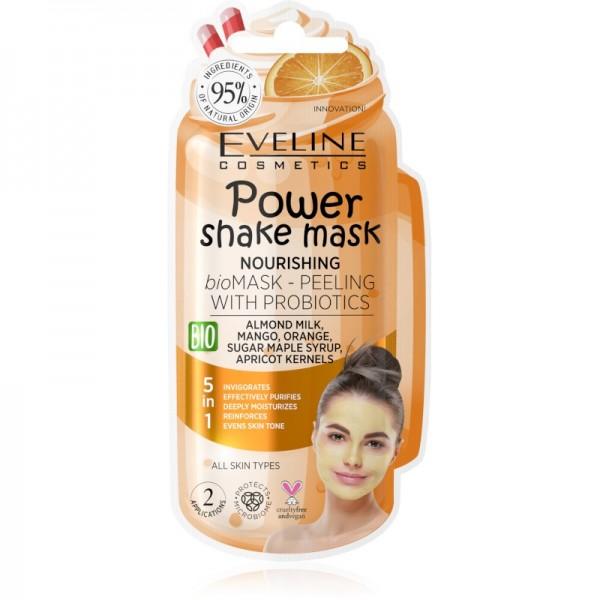 Eveline Cosmetics - Gesichtsmaske - Power Shake Mask Nourishing
