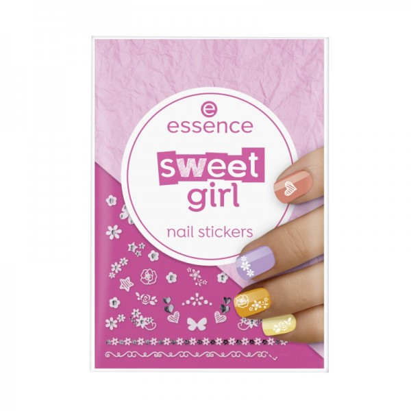essence - sweet girl nail stickers