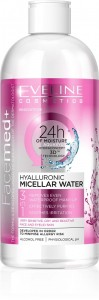 Eveline Cosmetics - Mizellenwasser - Facemed+ Hyaluron Mizellenwasser