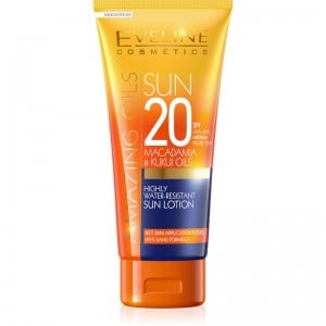 Eveline Cosmetics - Amazing Oils Highly Water Resistant Sun Lotion Spf20