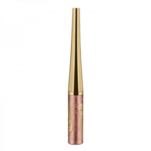 Catrice - Lip Liner - Blessing Browns - Metallic Liquid Lip Liner C01 - Copper To Go