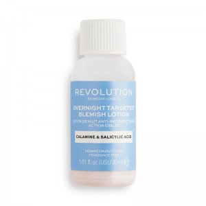 Revolution - Gesichtslotion - Skincare Overnight Targeted Blemish Lotion
