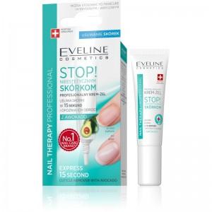 Eveline Cosmetics - rimozione della cuticola - Nail Therapy Professional Express 15 Second Cuticle Remover