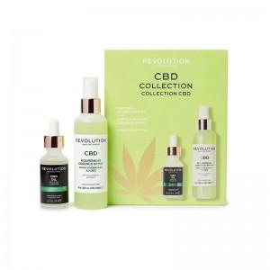 Revolution - Hautpflegeset - Skincare CBD Oil & Spritz Set