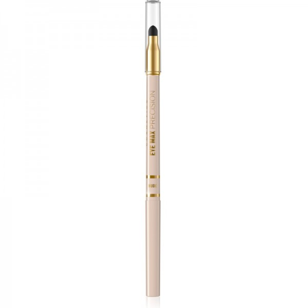 Eveline Cosmetics - Eyeliner - Eye Max Precision-Automatic Eye Pencil With Sponge - Nude