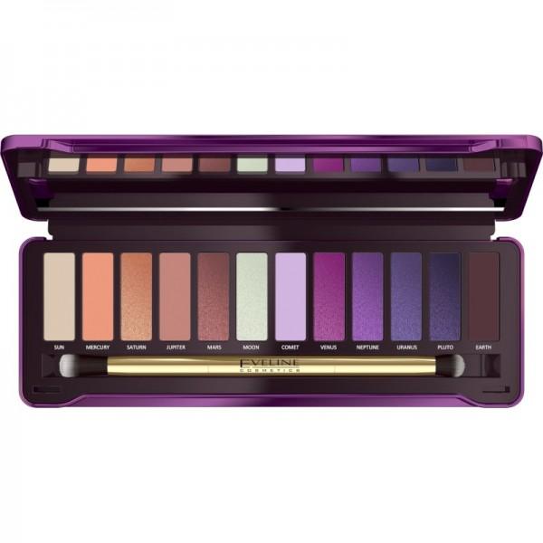 Eveline Cosmetics - Lidschattenpalette - Eyeshadow Palette - Mystic Galaxy