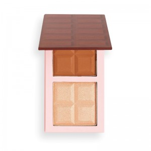 I Heart Revolution - Chocolate Contour Palette - Medium