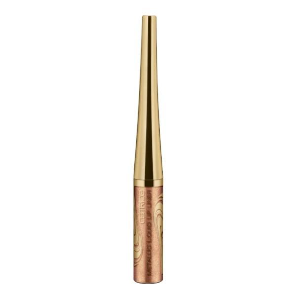 Catrice - Lip Liner - Blessing Browns - Metallic Liquid Lip Liner C02 - Rose Frappe