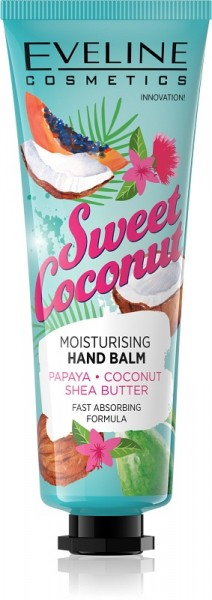 Eveline Cosmetics - Handcreme - Sweet Coconut Handbalsam