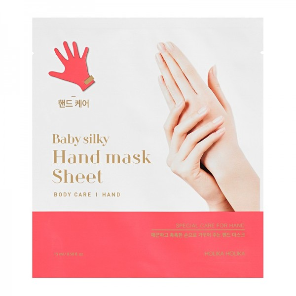 Holika Holika - Baby Silky Hand Mask Sheet