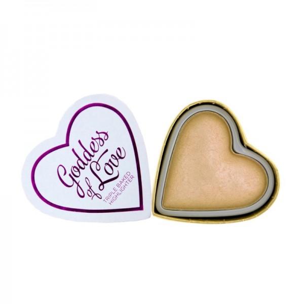I Heart Makeup - Highlighter - Blushing Hearts - Golden Goddess