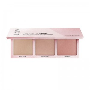 L.O.V - Highlighterpalette - THE GLOWRIOUS Deep Metallic Highlighting Palette - 010 Pink Seduction
