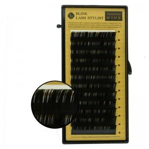 Blink - Schwarze Einzelwimpern - Mink-Lashes - J-Curl - Durchmesser 0,15mm
