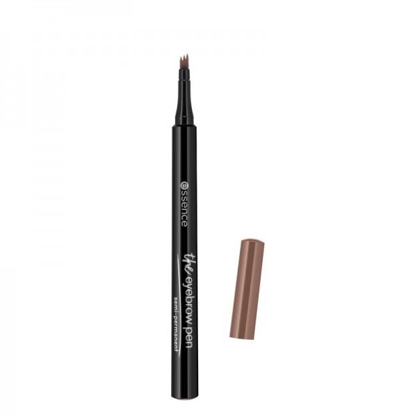 essence - Augenbrauenstift - the eyebrow pen - 04 dark brown