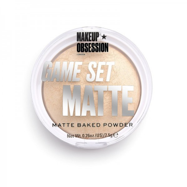 Makeup Obsession - Puder - Game Set Matte - Matte Powder Formentera