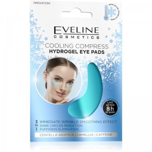 Eveline Cosmetics - Augenpads - Ice Cooling Compress Hydrogel Eye Pads - 3 in 1