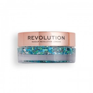 Revolution - Glitterbalm - Viva Glitter Balm Pot Teal Time