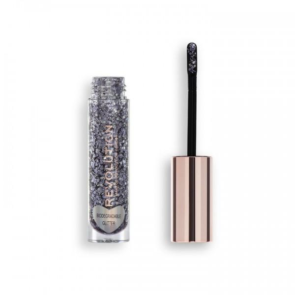 Revolution - Glitter Body Gloss - Viva Multi Glitter Gloss La La Lilac