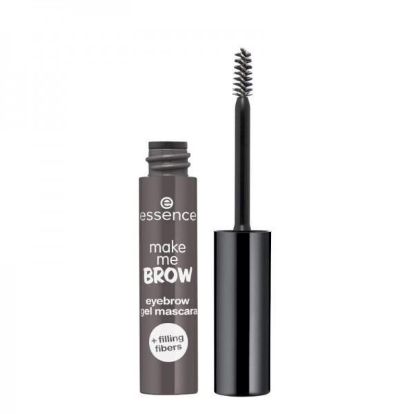 essence - Augenbrauen-Mascara - make me brow eyebrow gel mascara 04 - Ashy Brows