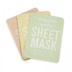 Revolution - Gesichtsmasken-Set - Skincare Dry Skin Sheet Masks Set 3Stk