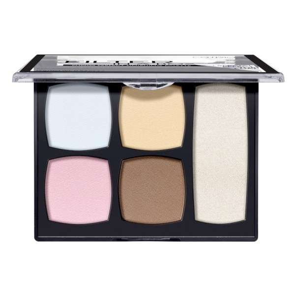Catrice - Makeup Palette - Filter In A Box Photo Perfect Finishing Palette - 010