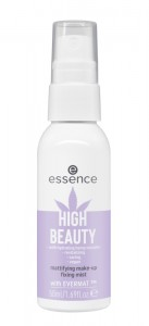 essence - HIGH BEAUTY mattifying make-up fixing mist
