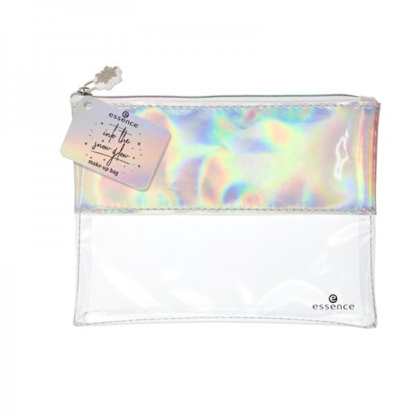 essence - Kosmetiktasche - into the snow glow - make-up bag 01