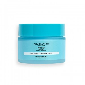Revolution - Tagespflege - Skincare Water Boost Cream with Hyaluronic Acid