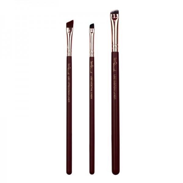 lenibrush - Brush Set - Fine Liner Set - Midnight Plum Edition