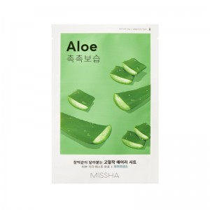 Missha - Gesichtsmaske - Airy Fit Sheet Mask - Aloe