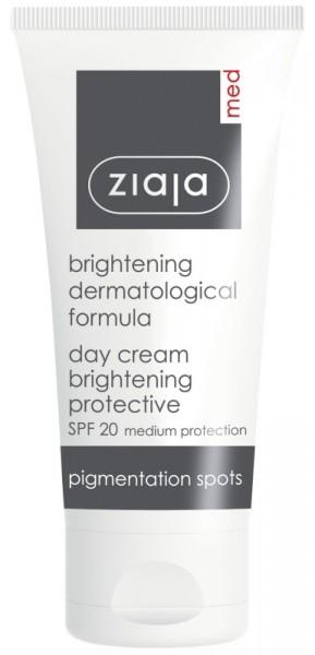 Ziaja Med - Med Brightening Protective Day Cream SPF 20