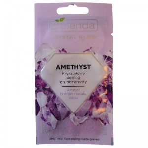 Bielenda - Gesichtspeeling - Crystal Glow Amethyst Face Peeling Coarse-Grained