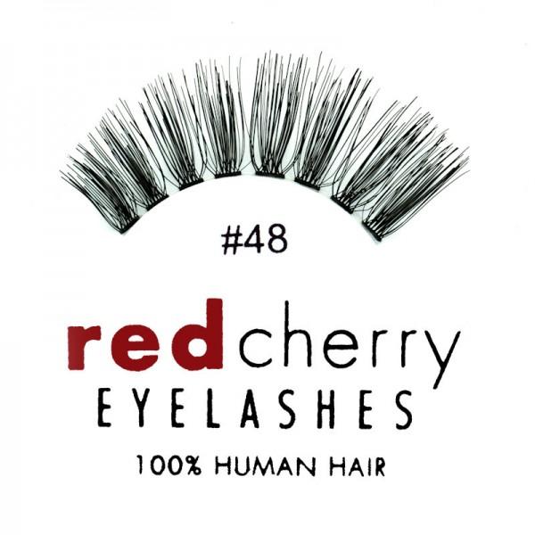 Red Cherry - False Eyelashes No. 48 Darla - Human Hair